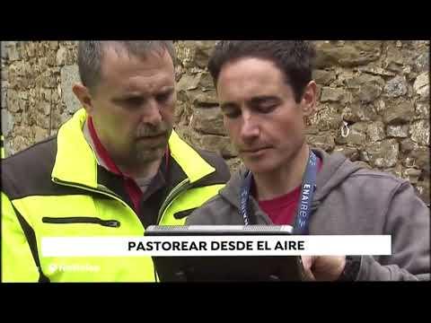 Fotograma del vídeo: Proyecto pionero en Ganadería - El Dron Pastor