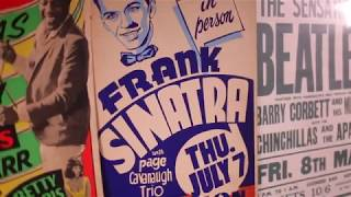 Sinatra, Redding And The Clash: A Vast Array Of Vintage Concert Posters