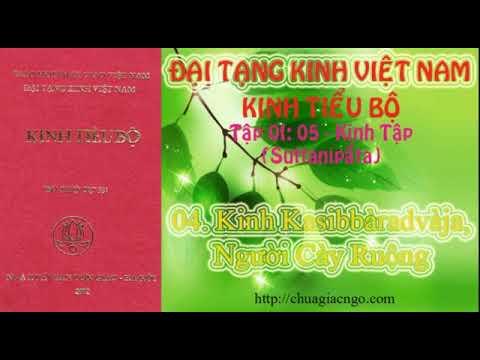 Kinh Tiểu Bộ - 061. Kinh Tập - Chương 1: Phẩm Rắn - 04. Kinh Kasibbàradvàja, Người Cày Ruộng