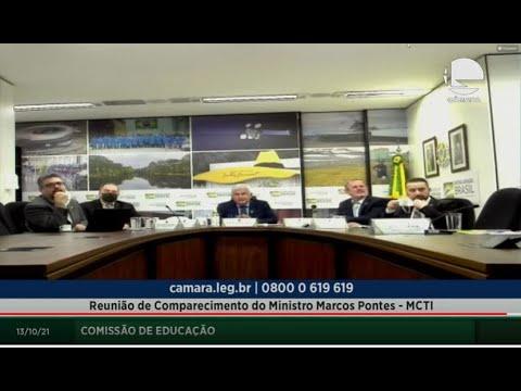 Educação - Presença do ministro Marcos Pontes - 13/10/2021