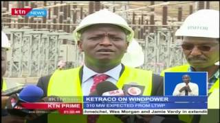 Ketraco transmission line to connect the lake Turkana wind power project to the national grid