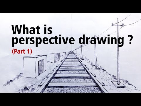 What is perspective drawing ? (PART 1) - YouTube