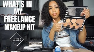 Whats In My Makeup Kit? | Freelance Makeup Kit For Beginners| Bellas Beauty