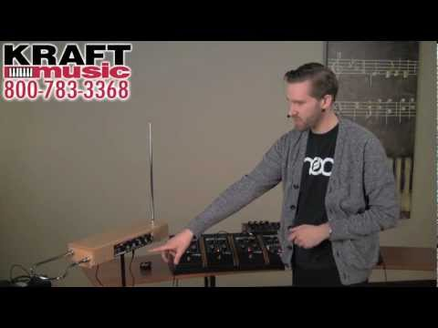 Kraft Music - Moog Etherwave Theremin Demo with Jake Widgeon
