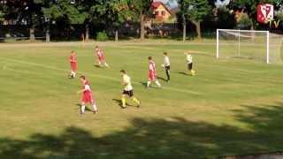 preview picture of video 'Pogoń Pieszyce vs. Piławianka Piława Górna 24.08.2013'