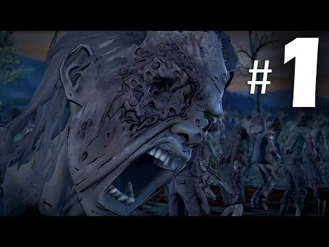 The Walking Dead Season 3 A New Frontier Episode 1 Gameplay Walkthrough Part 1 - Ties That Bind
