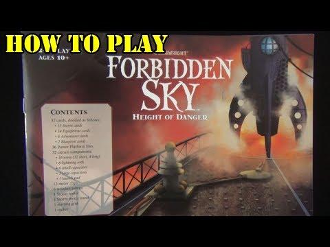 Forbidden Sky tutorial