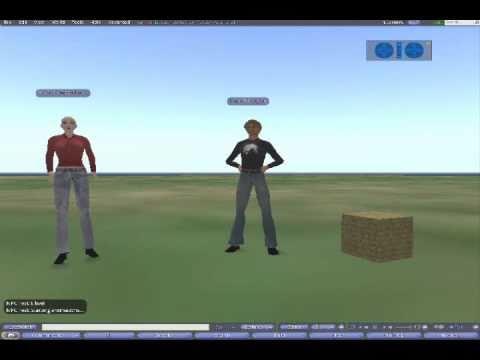 OpenSim server-side NPC Test