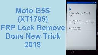 2019) Motorola Moto G5s FRP Bypass 7 1 1 without pc - hmong