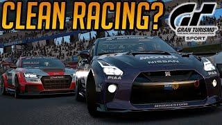 Gran Turismo Sport: Clean Racing?