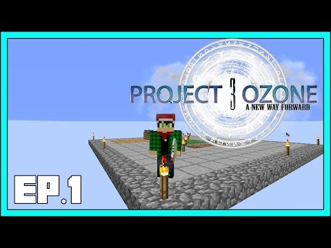 Project Ozone 3 - EP1 - Cobblestone Generator - Modded Minecraft 1.12.2