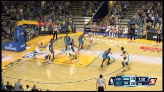 NBA 2K14 Gameplay - Oklahoma City Thunder vs Golden State Warriors Full Game (Xbox One)