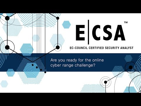 EC-Council Certified Security Analyst (ECSA) - YouTube