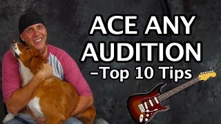 Top 10 Tips to ACE any auditions - prep to join a band - meet Scarlet!