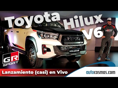 Lanzamiento Toyota Hilux GR S V6