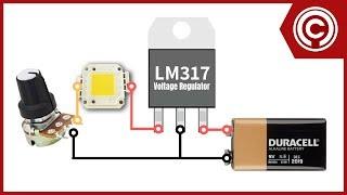 DC Light Dimmer using BD139 NPN transistor (0 - 38v