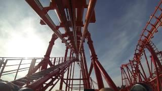 Energylandia, Roller Coaster Marjan | GoPRO