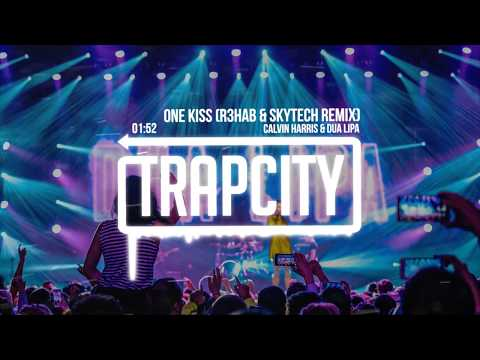Calvin Harris, Dua Lipa - One Kiss (R3HAB & Skytech Trap Remix) [Lyrics]
