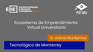 Ecosistema de emprendimiento universitario virtual