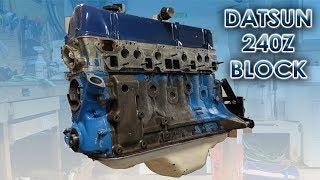 Building 1970 Datsun 240z Engine Block