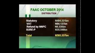 FAAC Distribute October Allocations