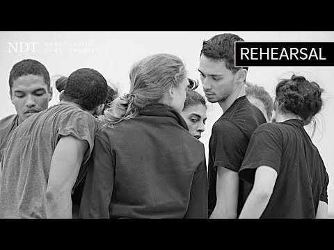 Rehearsal 'The Hole' - Ohad Naharin (NDT 1 | The Hole)