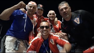ЧМ-2018: Хорваты отмечают победу над Нигерией - Croatia fans in Kaliningrad