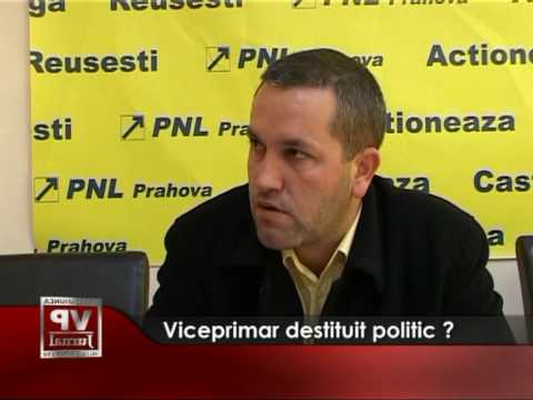 Viceprimar destituit politic?