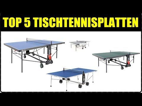 TOP 5 Outdoor Tischtennisplatten ★ Tischtennisplatte Outdoor & Indoor ★ Kettler Tischtennisplatten..