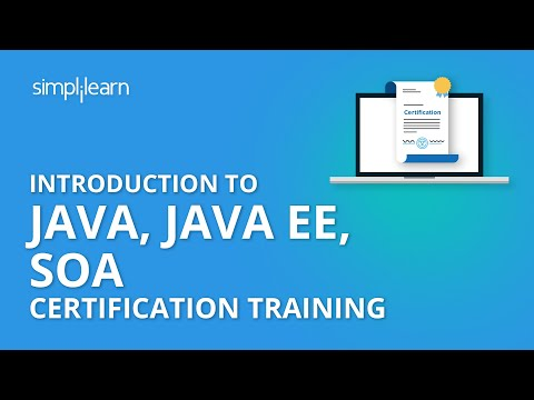Introduction To Java, Java EE, SOA Certification Training ... - YouTube