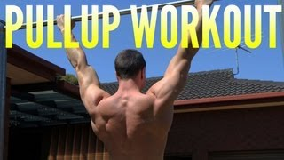 Pull Up Workout: Back And Biceps By Bodyweight by FitnessFAQs