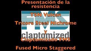 Presentación del claptomizado FMS y la nueva TSN Vulcan