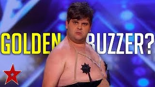 HILARIOUS Dancer Gets GOLDEN BUZZER By Accident On America's Got Talent 2019! | Got Talent Global