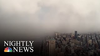 Watch: Snow Squall Takes Over New York City | NBC News
