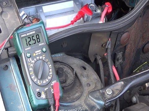 Prova / collaudare   dei vostri circuiti di carica - prova dell'alternatore & della batteria