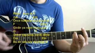 Gitar Dersi - Şeker (Ravi & M.Ceceli)