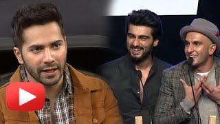 AIB KNOCKOUT CONTROVERSY  Varun Dhawan Reacts  Ranveer Singh Arjun Kapoor
