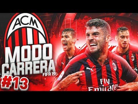 ¡MUCHO TRABAJO Y ¿POCA RECOMPENSA?! #13   MODO CARRERA - AC MILAN   FIFA 19