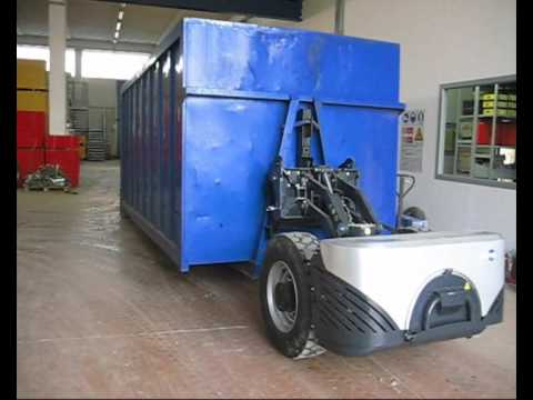Gapo movimentazione scarrabile roll-off container