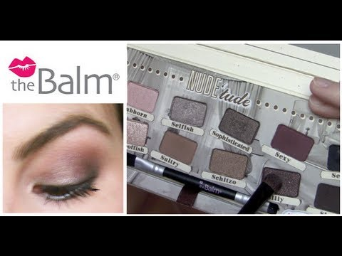 the Balm Nude 'tude Tutorial + Review