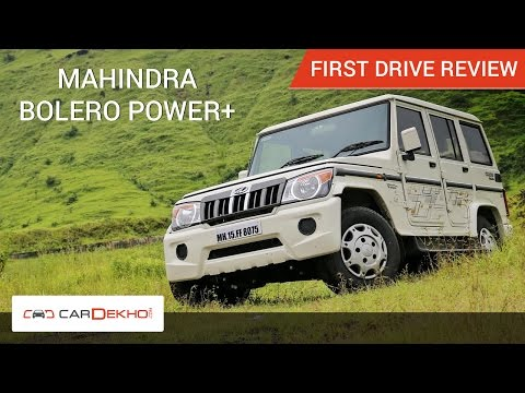 2016 Mahindra Bolero Power Plus Review
