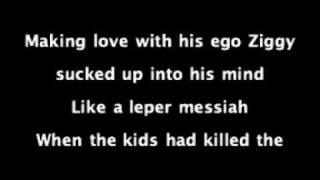 David Bowie - Ziggy Stardust Lyrics