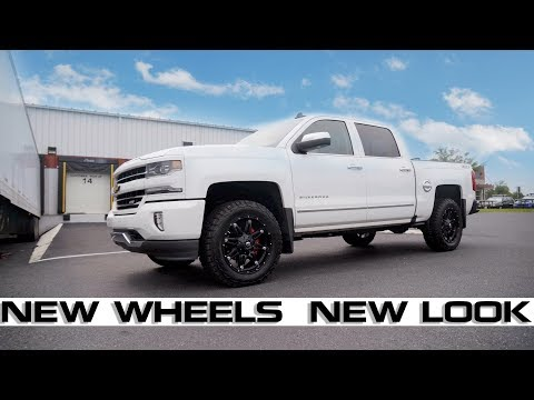 "Chevrolet Silverado/GMC Sierra Fuel Hostage Wheels 20""X9"" Matte Black 2007-2017"