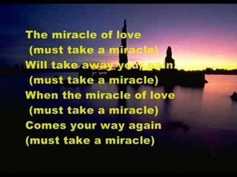 THE MIRACLE OF LOVE - EURYTMICS