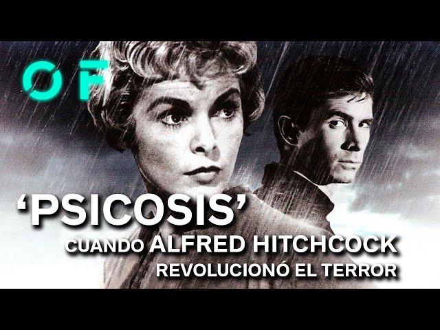 PSICOSIS: así revolucionó ALFRED HITCHCOCK el cine de TERROR