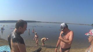Рыбалка на озере светлое в алтайском крае