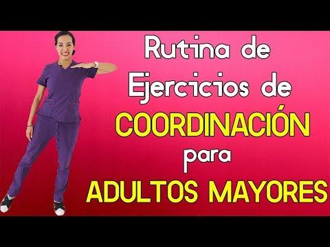 Completa Rutina De Ejercicios De Coordinación Para Adultos Mayores