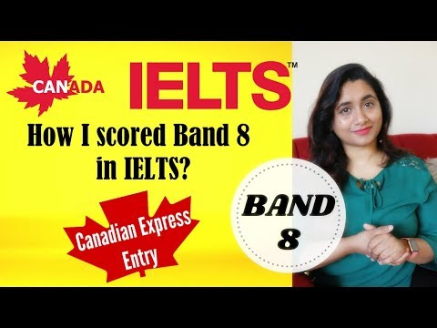 IELTS for Canada PR | How I scored band 8 in IELTS General ...