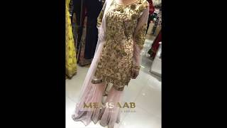 Launching Eloquent New Shararah Style Piece | Hoor | Memsaab Boutique