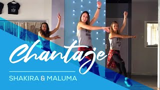 Chantaje - Shakira ft Maluma - Easy Fitness Dance Choreography - Saskia